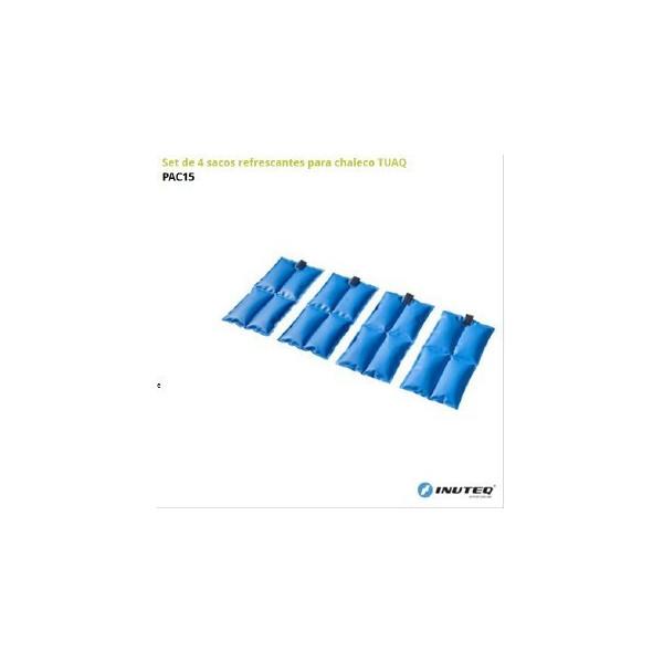 SET 4 Sacos refrescantes para chalecos TUAQ
