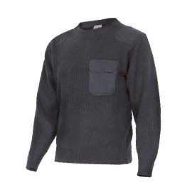 Jersey de punto de cuello redondo Velilla 100